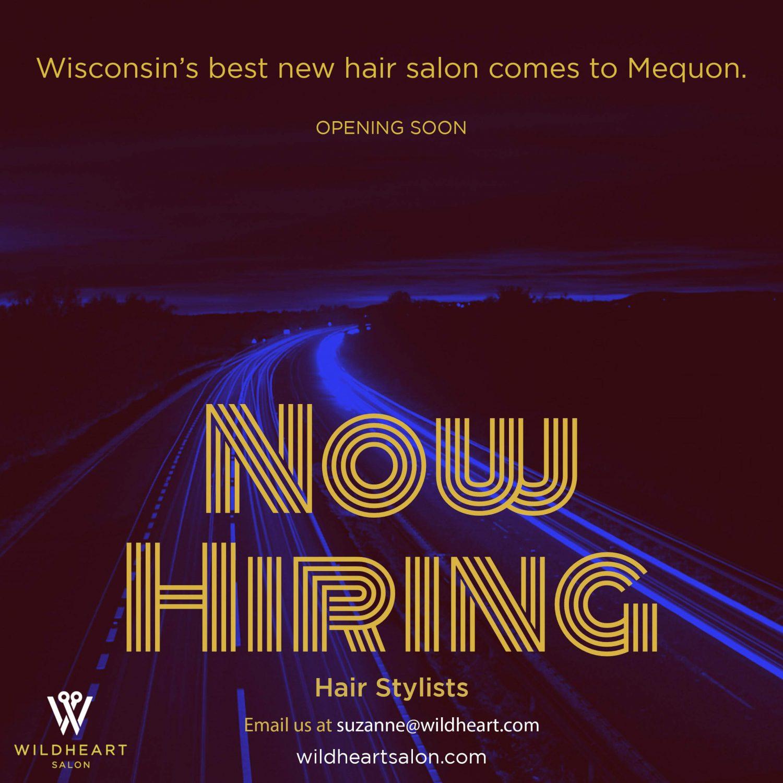 Now Hiring 2 Wildheart Hair Salon